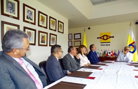 Asomef presenta la Junta Directiva 2017-2019 al Comité Directivo del INMLyCF